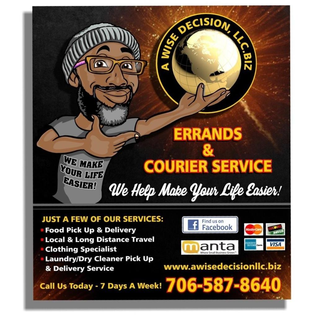 A Wise Decision LLC - Columbus, GA - Courier & Delivery Services