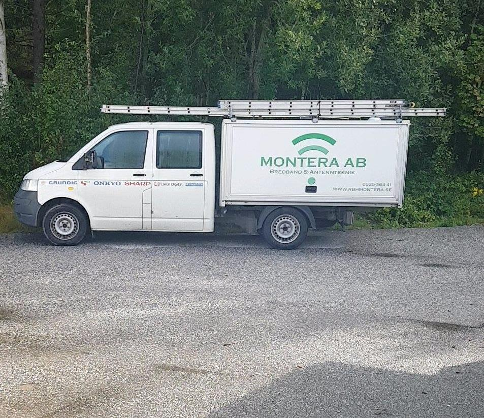 Montera Bredband & Antennteknik I Sverige AB