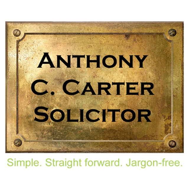 Anthony C. Carter Solicitor