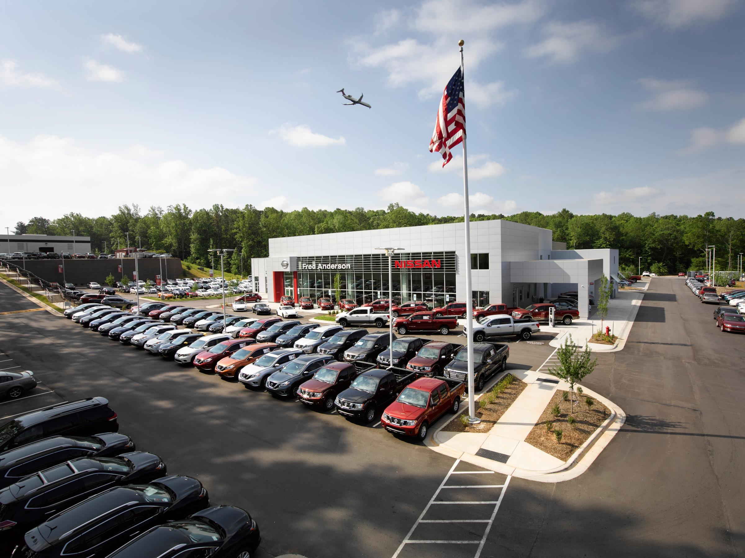 Fred Anderson Nissan Of Raleigh Raleigh North Carolina