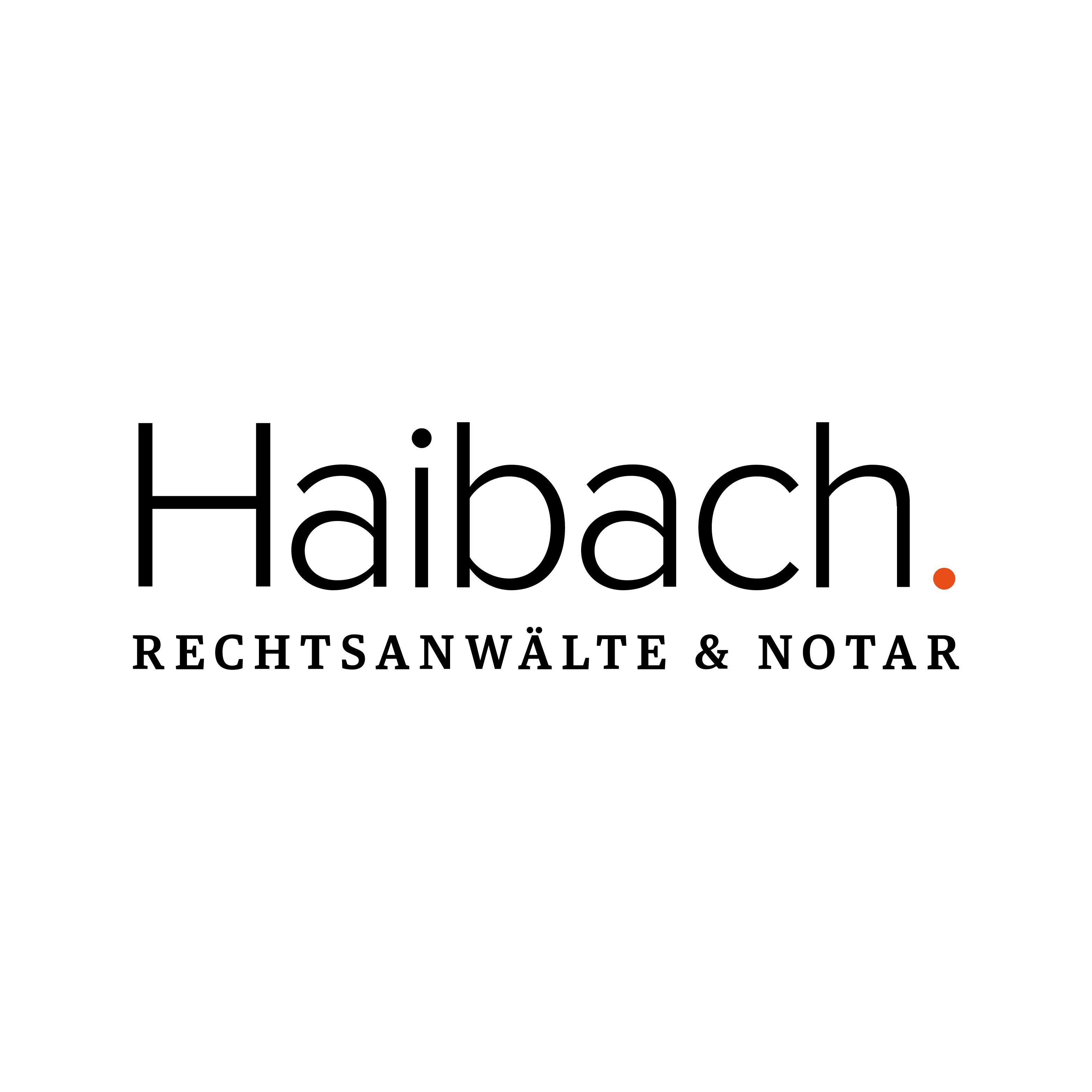 Bild zu Rechtsanwälte und Notar Haibach in Gießen
