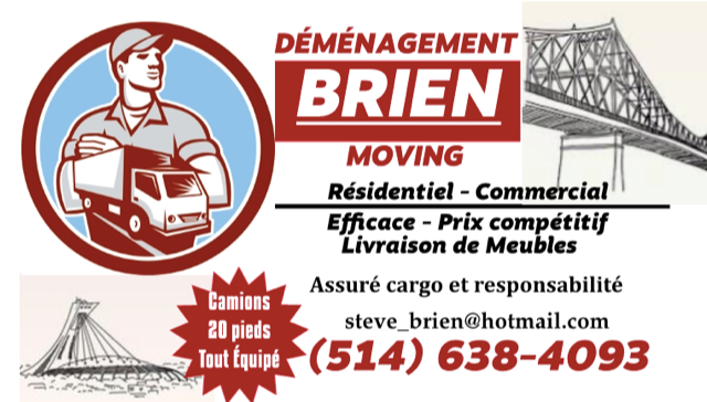 Brien Moving in Montréal