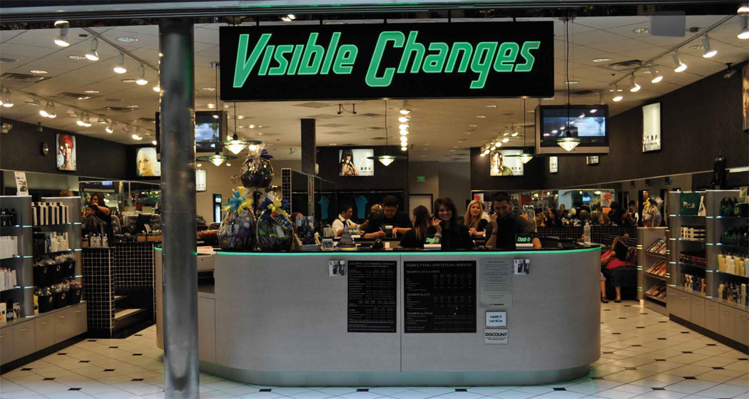 Visible Changes (inside Deerbrook Mall)