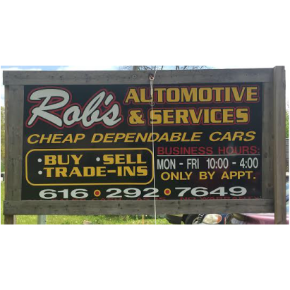 Rob's Towing & Automotive Services LLC - Lowell, MI - Auto Towing & Wrecking