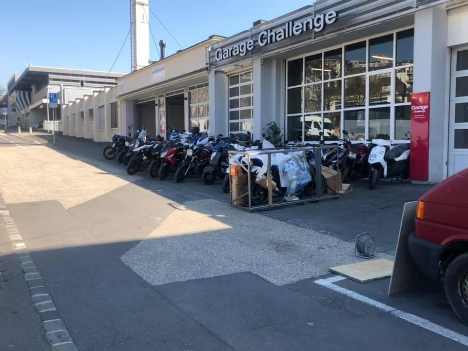 Moto Furia Officiel Suzuki, Vespa, Piaggio, Moto Guzzi, Sym, Peugeot Lausanne