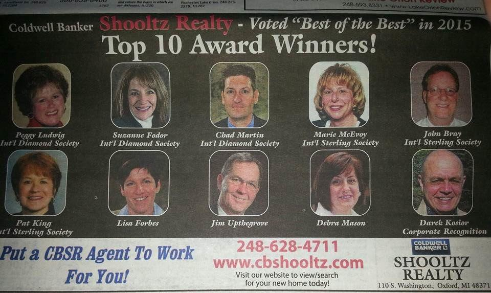 Marie McEvoy - Coldwell Banker Shooltz Realty