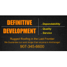 Definitive Construction, LLC