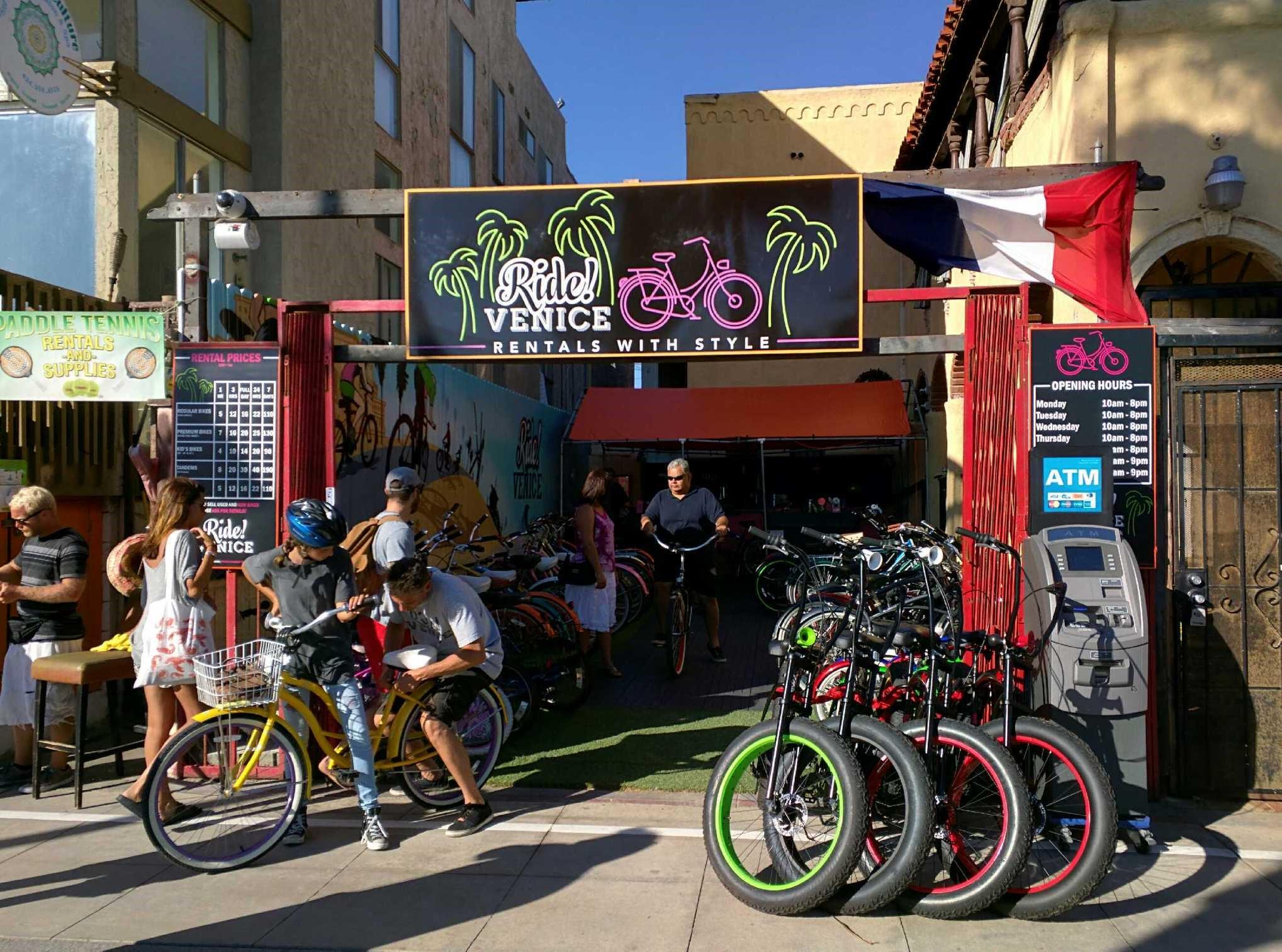 Ride Venice Bike Rentals Amp Repairs Coupons Near Me In