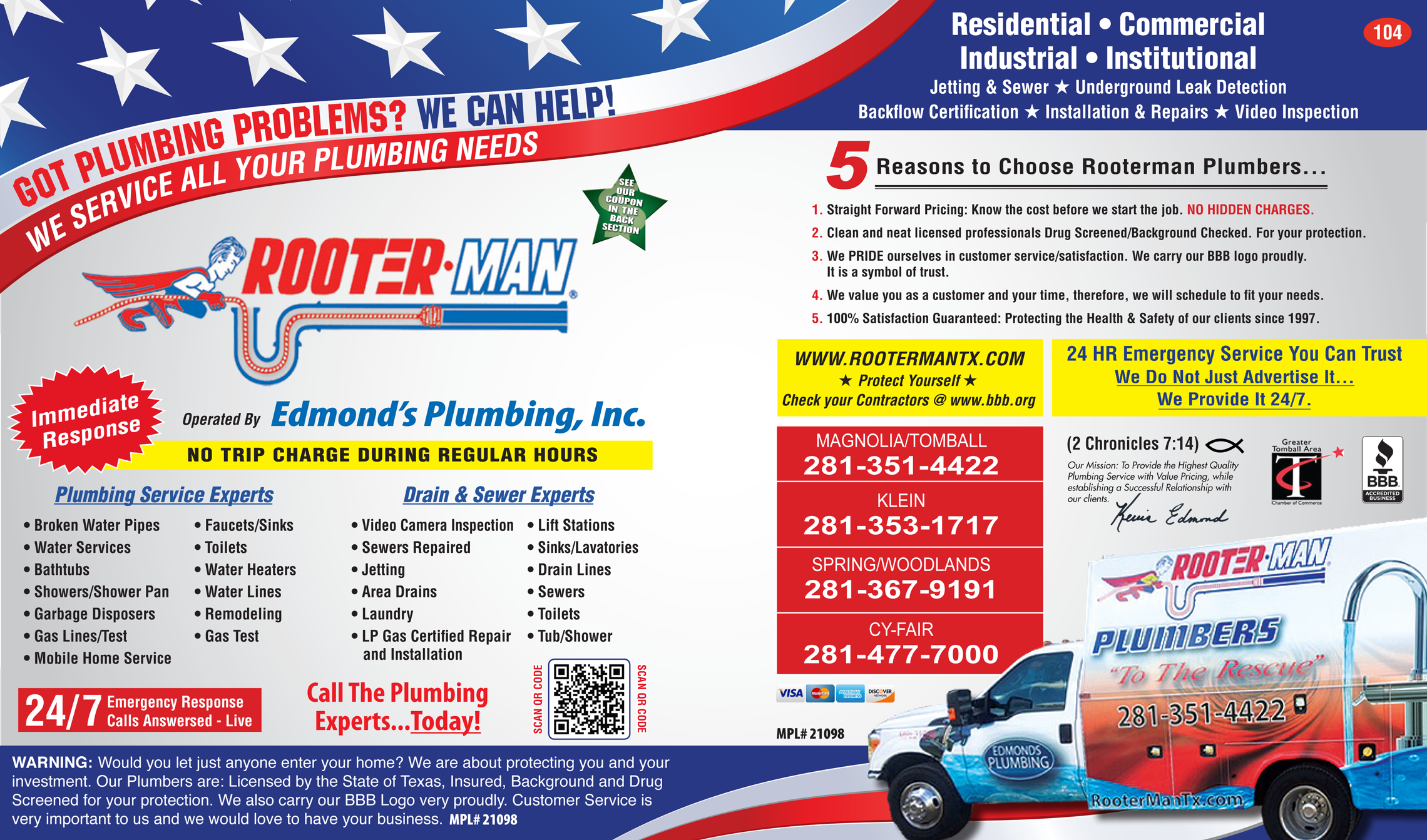 Rooter rooter coupons
