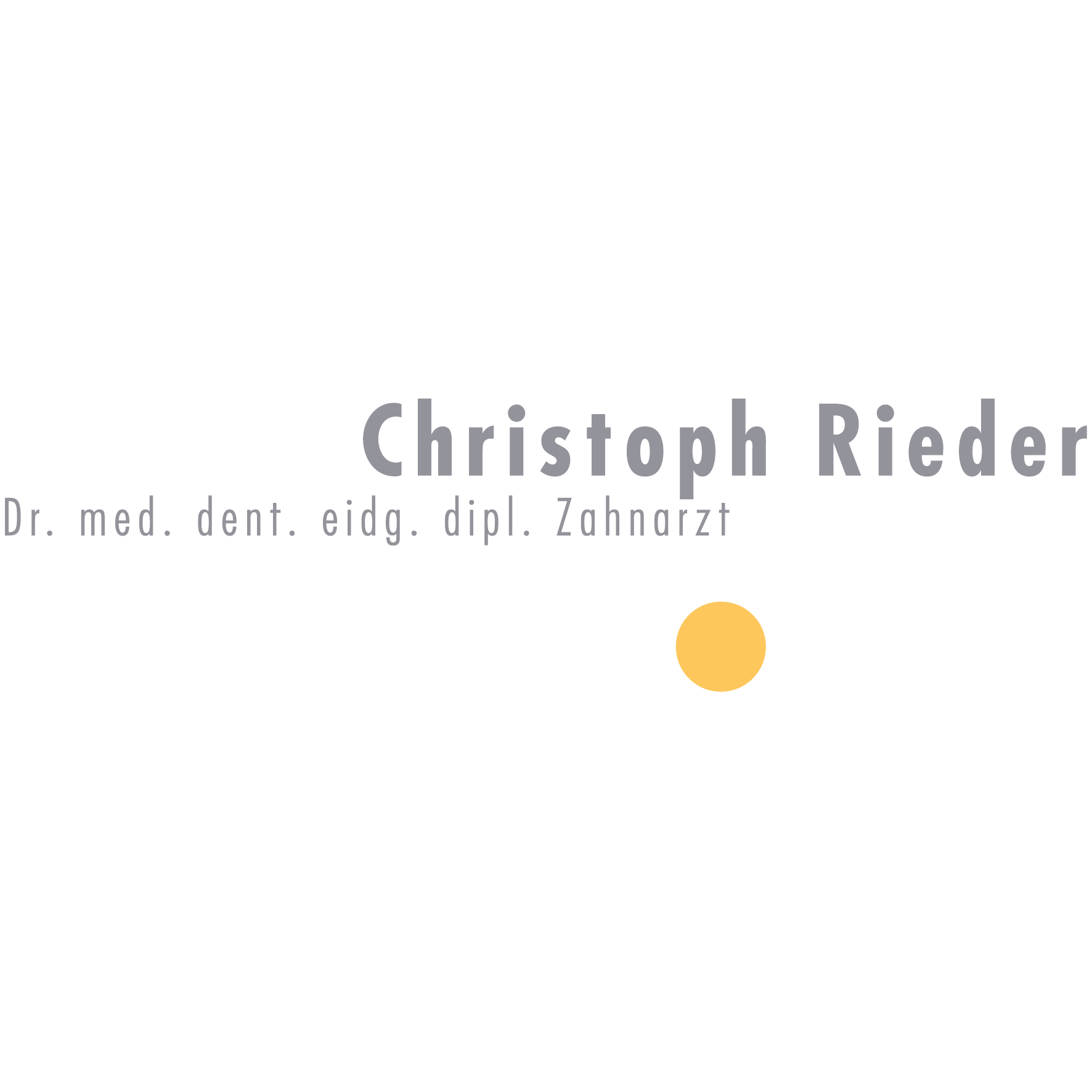 Praxis Dr. Christoph Rieder