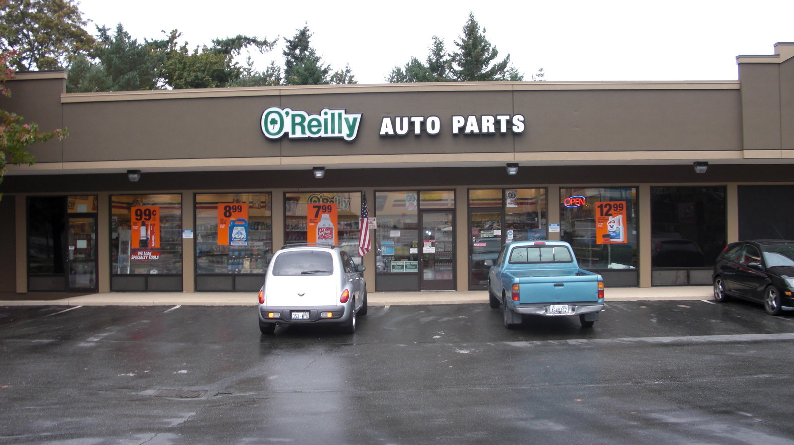 O Reilly Auto Parts Kirkland Washington Wa