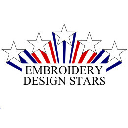 Embroidery Design Stars