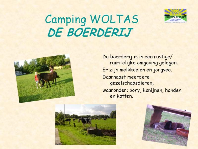 SVR Boerderij-Camping Woltas Appartement Trekkershut