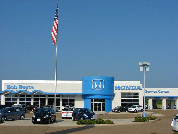 Bob boyte honda brandon mississippi ms for Brandon honda service hours
