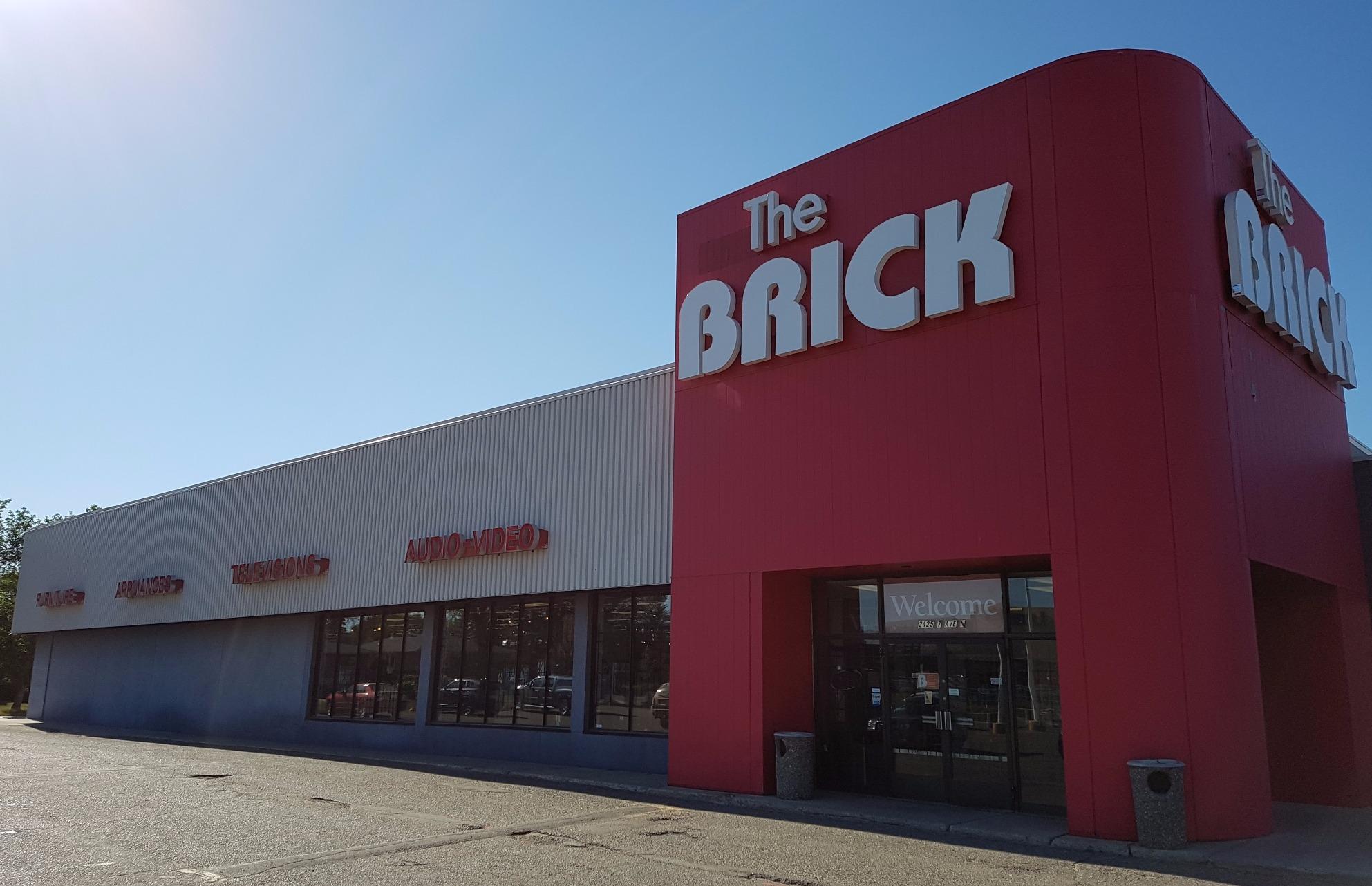 The Brick in Regina: Exterior