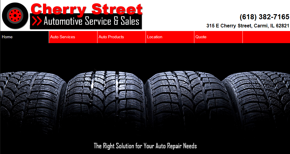 Cherry Street Automotive Service Sales Carmi Illinois
