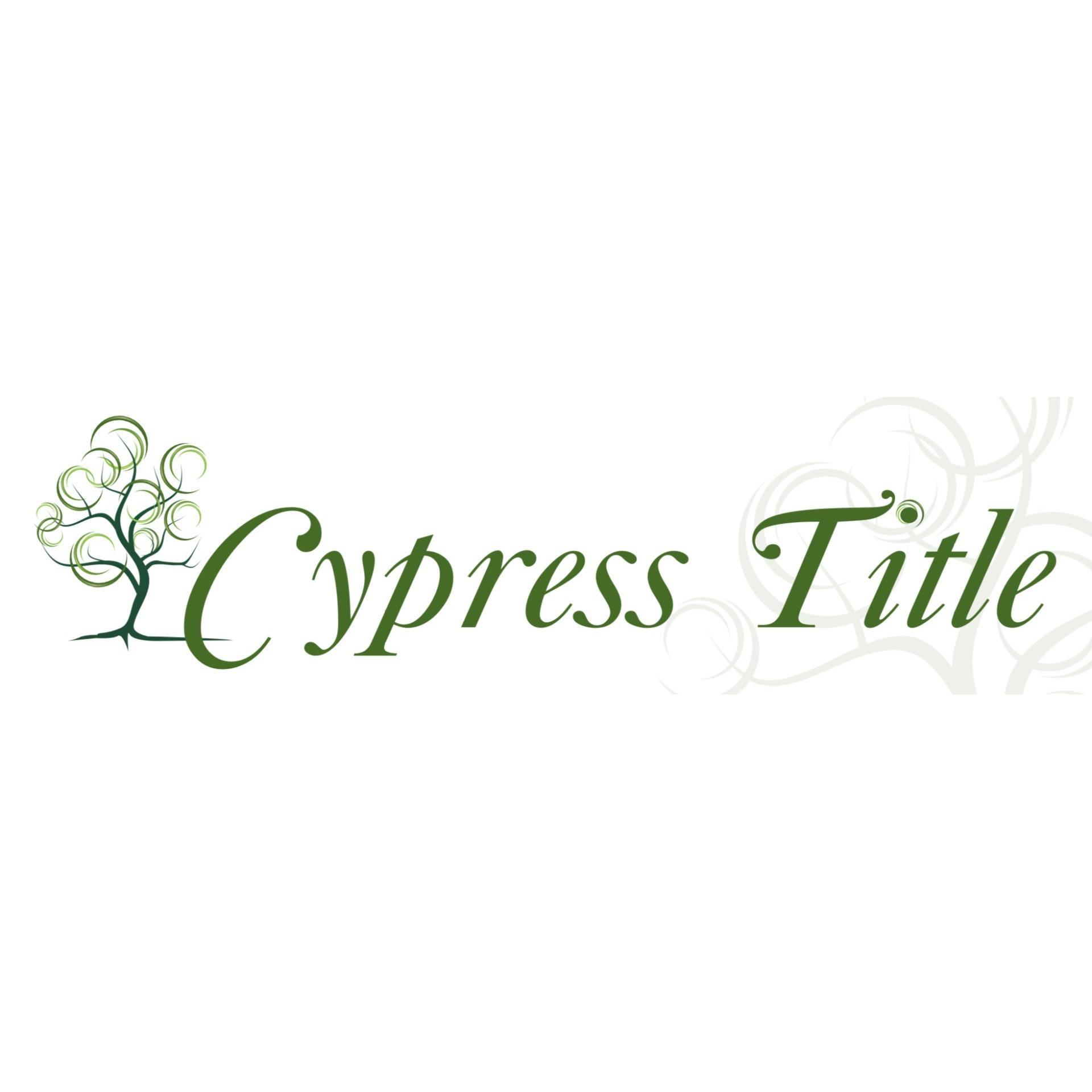 Cypress Title