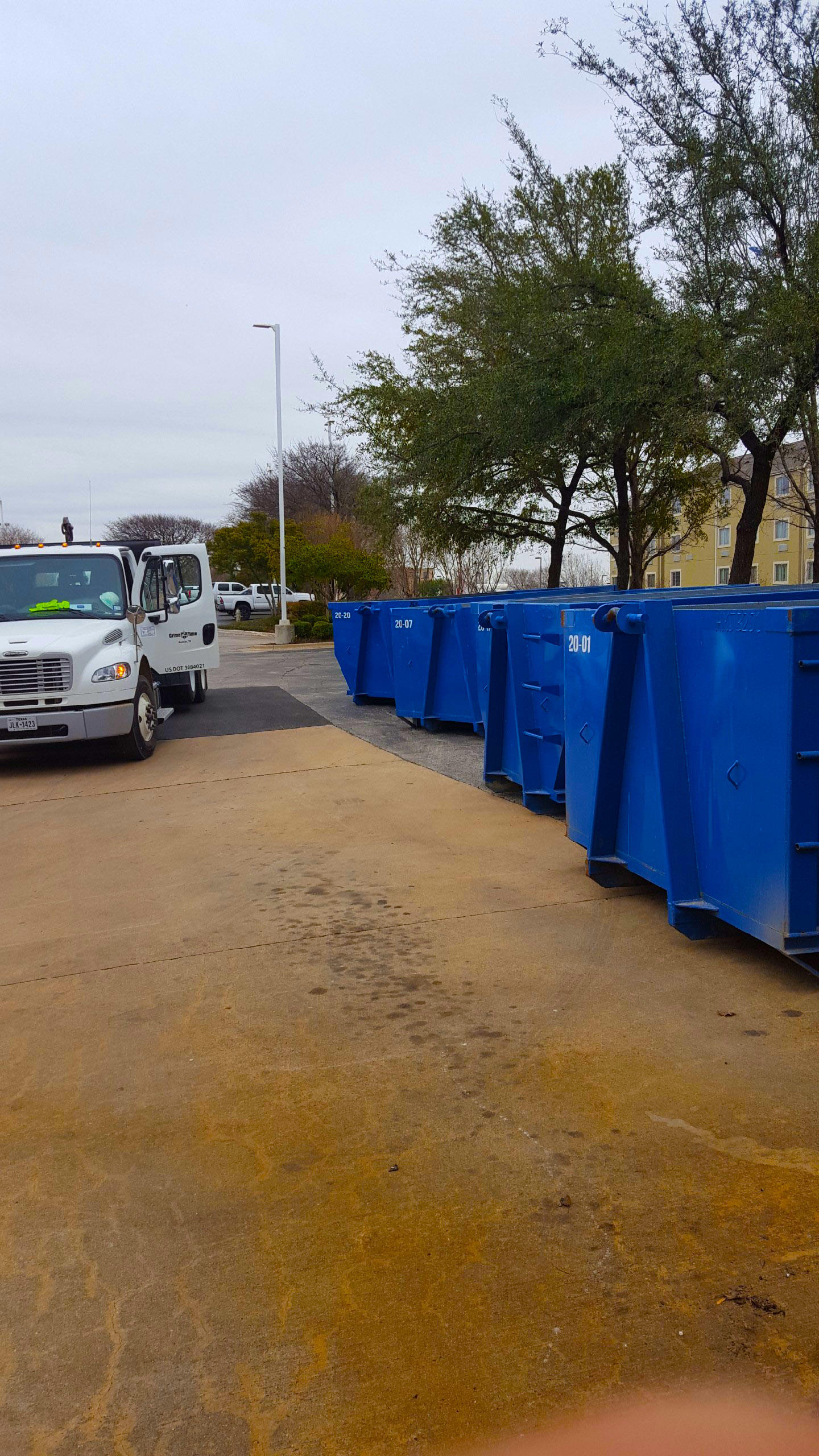 Grime Time Dumpster Rentals Austin Austin Texas Tx