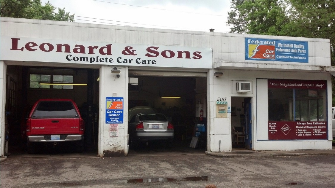 Leonard sons complete car care in waterford mi 48327 for A b motors waterford mi