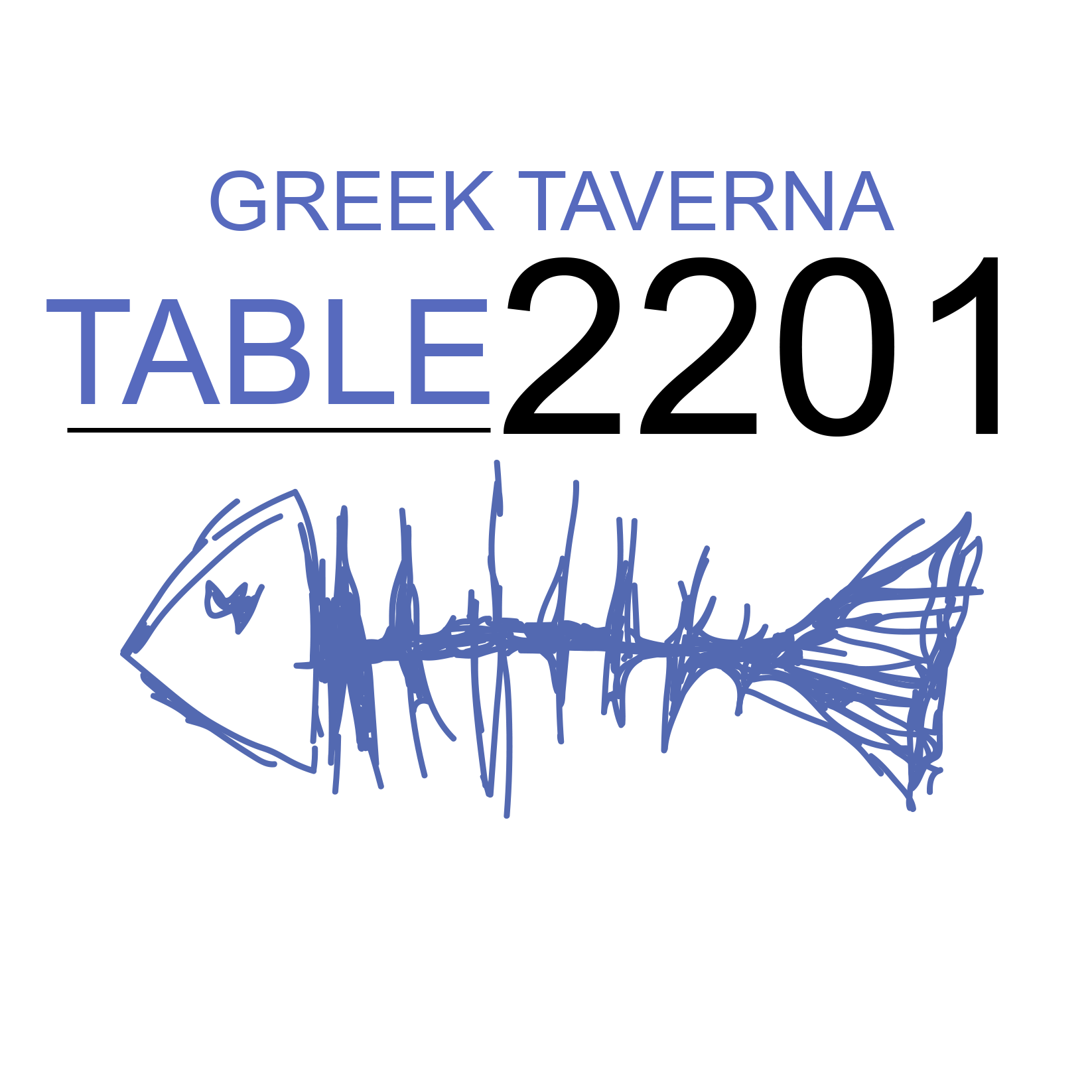 Greek Taverna Table 2201