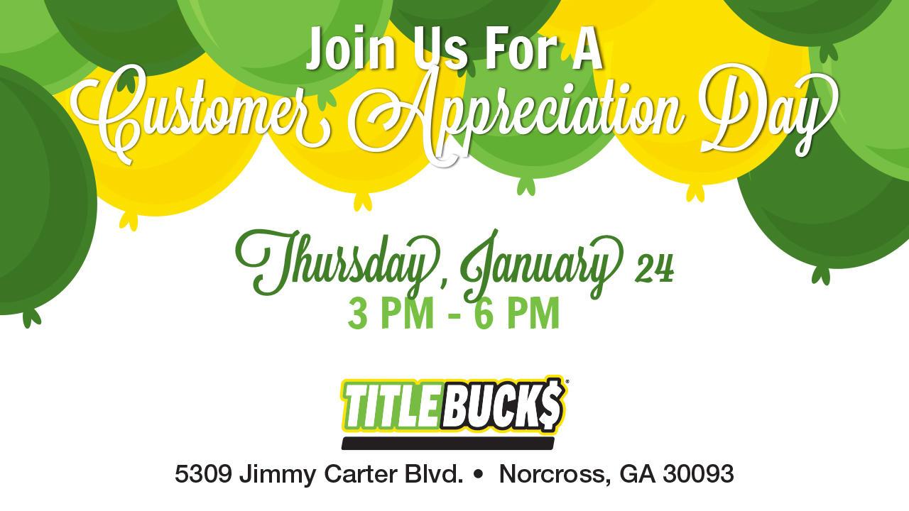 TitleBucks Norcross Customer & Community Appreciation Day