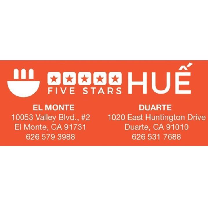 5 Stars Hue - Duarte, CA 91010 - (626)531-7688 | ShowMeLocal.com