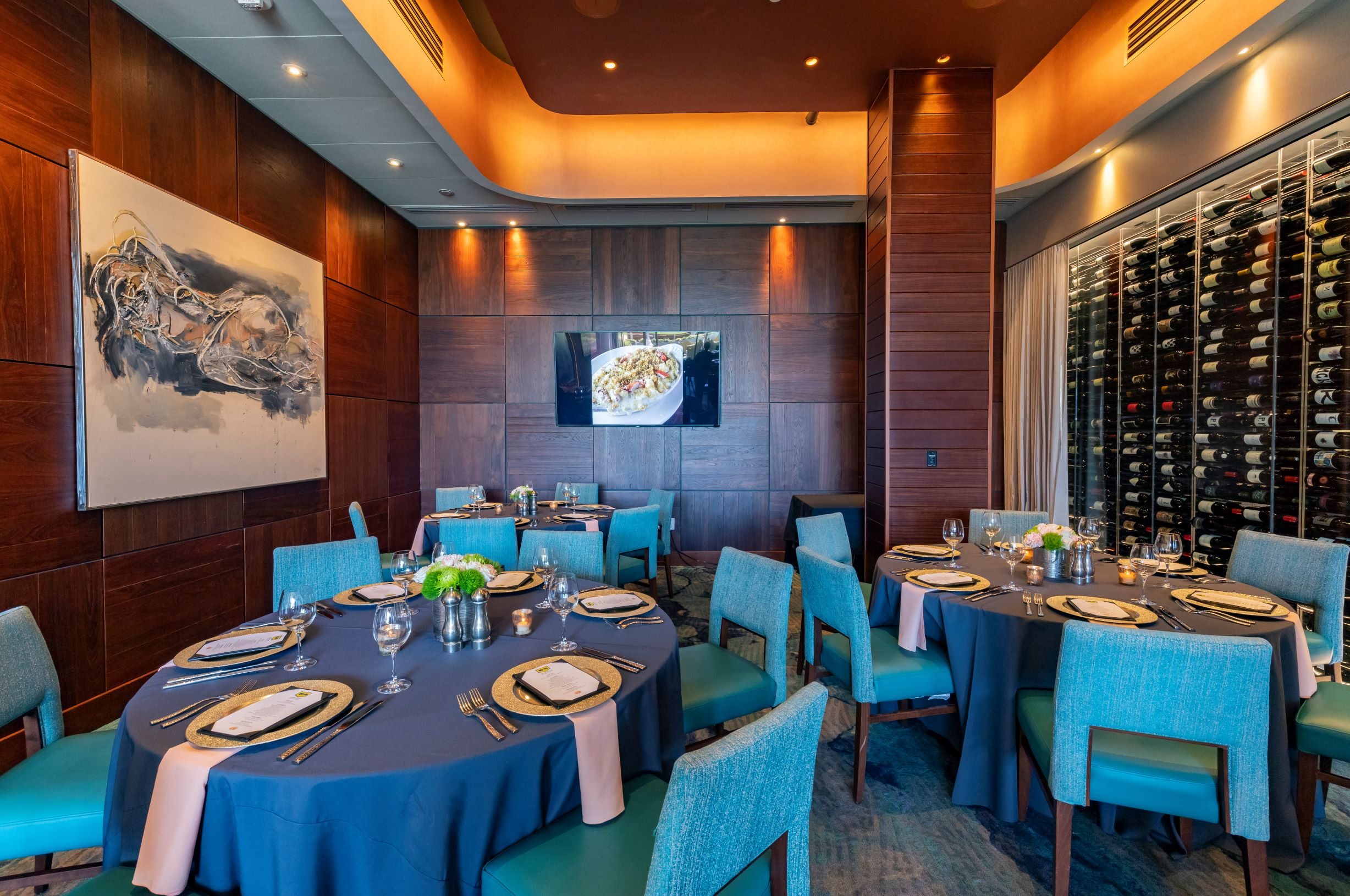 Del Frisco's Double Eagle Steakhouse San Diego Bayfront Room private dining room