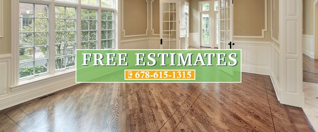 K m floors atlanta hardwood flooring installation for Wood floor installation near me