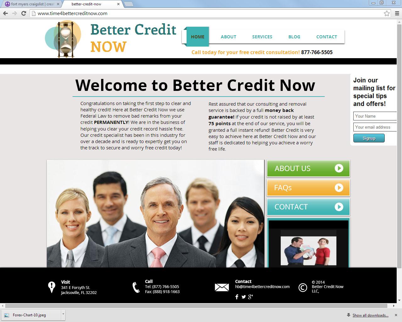 Better Credit Now- Credit Restoration
