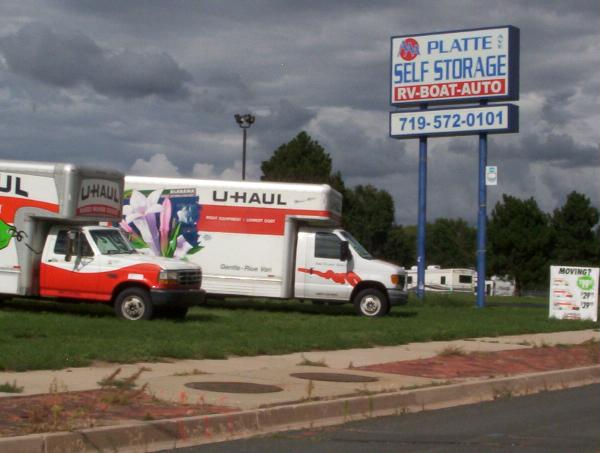 A A A Platte Self Storage In Colorado Springs Co 80915