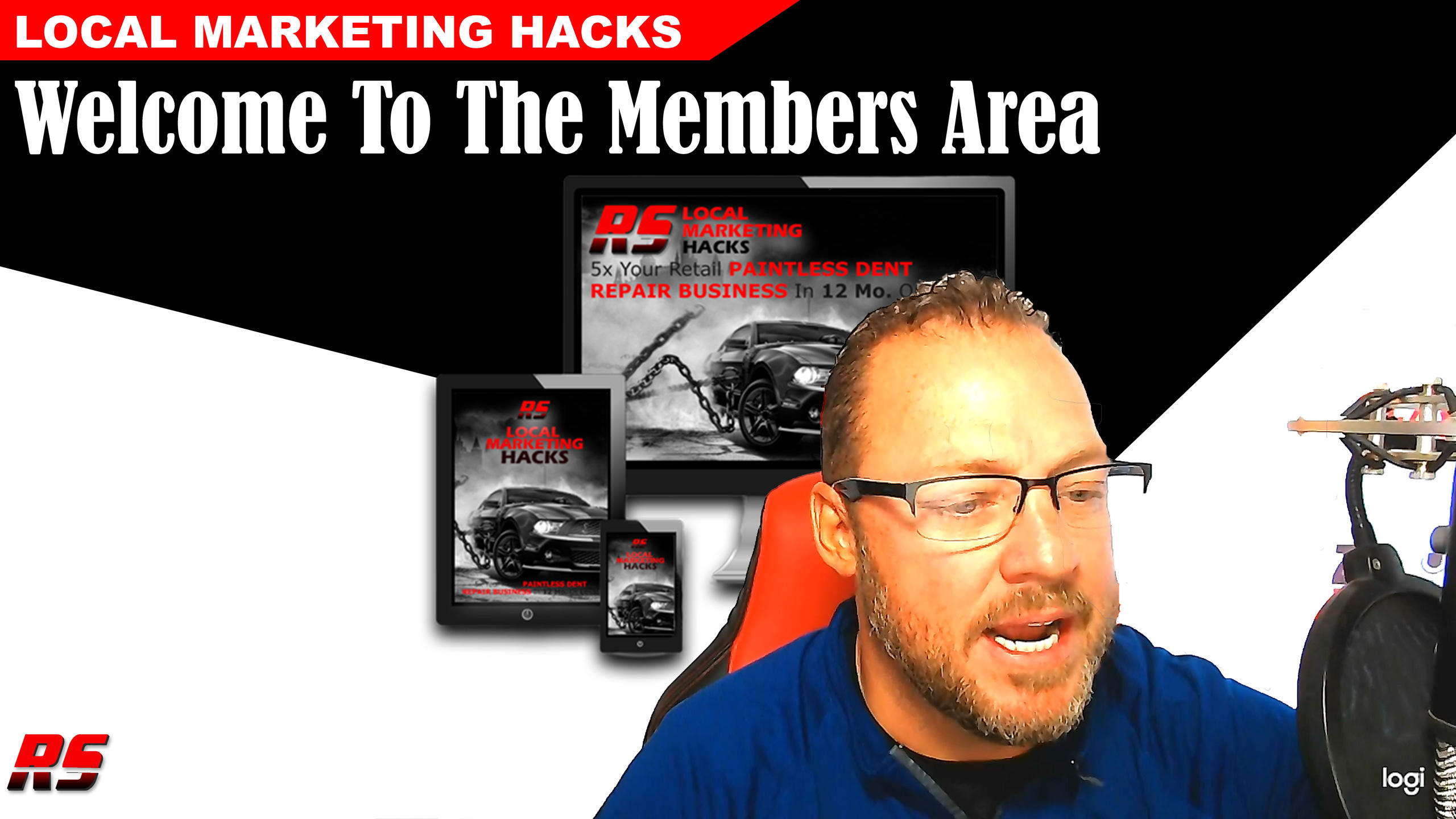 Welcome To The Local Marketing Hacks Members Area For Paintless Dent And Automotive Hail Repair Owners And Technicians