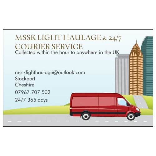 MSSK Light Haulage - Stockport, Cheshire SK1 4LS - 07967 707502 | ShowMeLocal.com