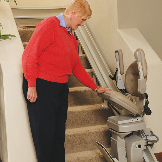 Bruno Curve CRE2110 StairLift Stairway staircase stairchase liftchair