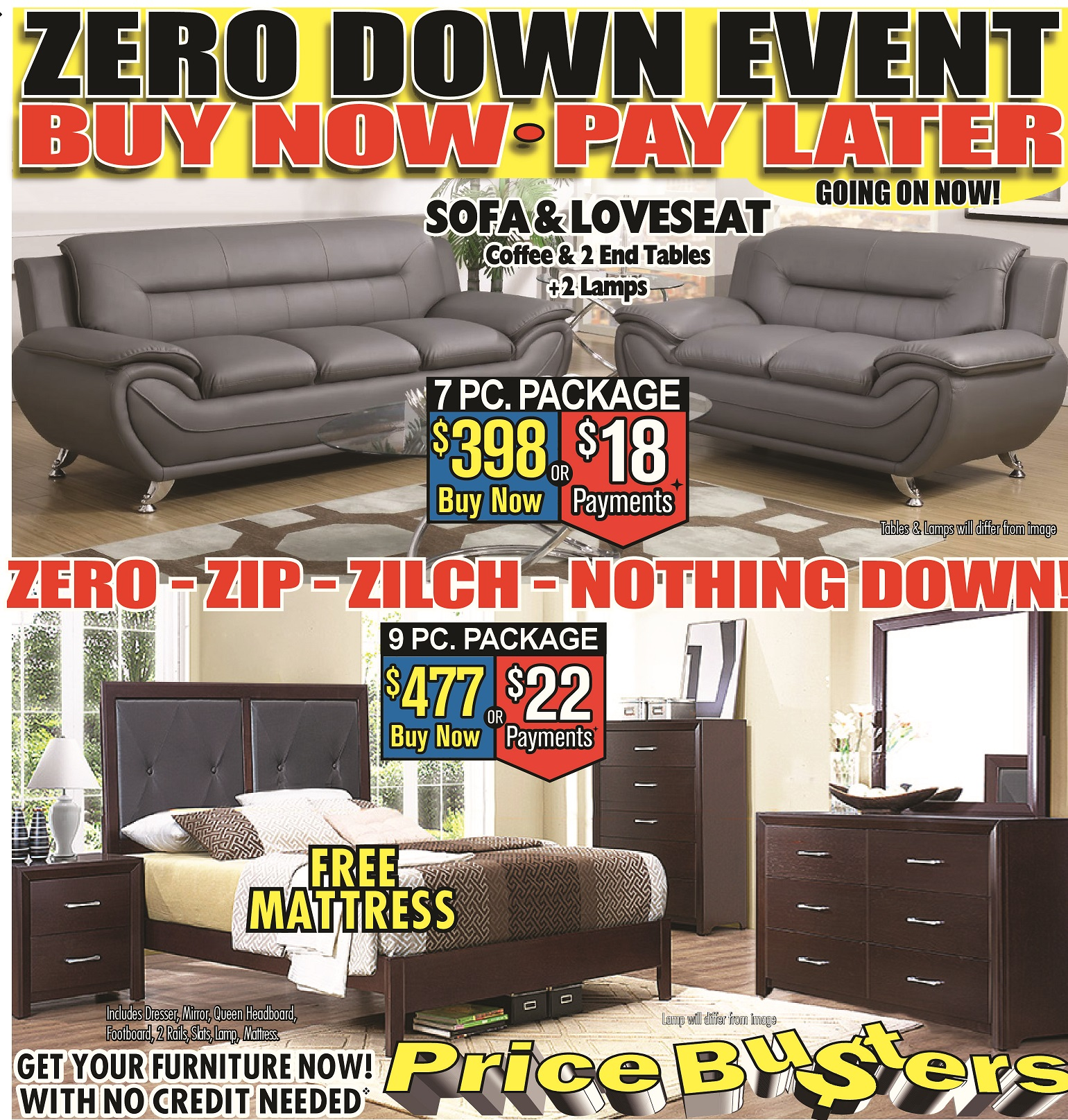 Best Priced Furniture Stores: Price Busters Discount Furniture, Rosedale Maryland (MD