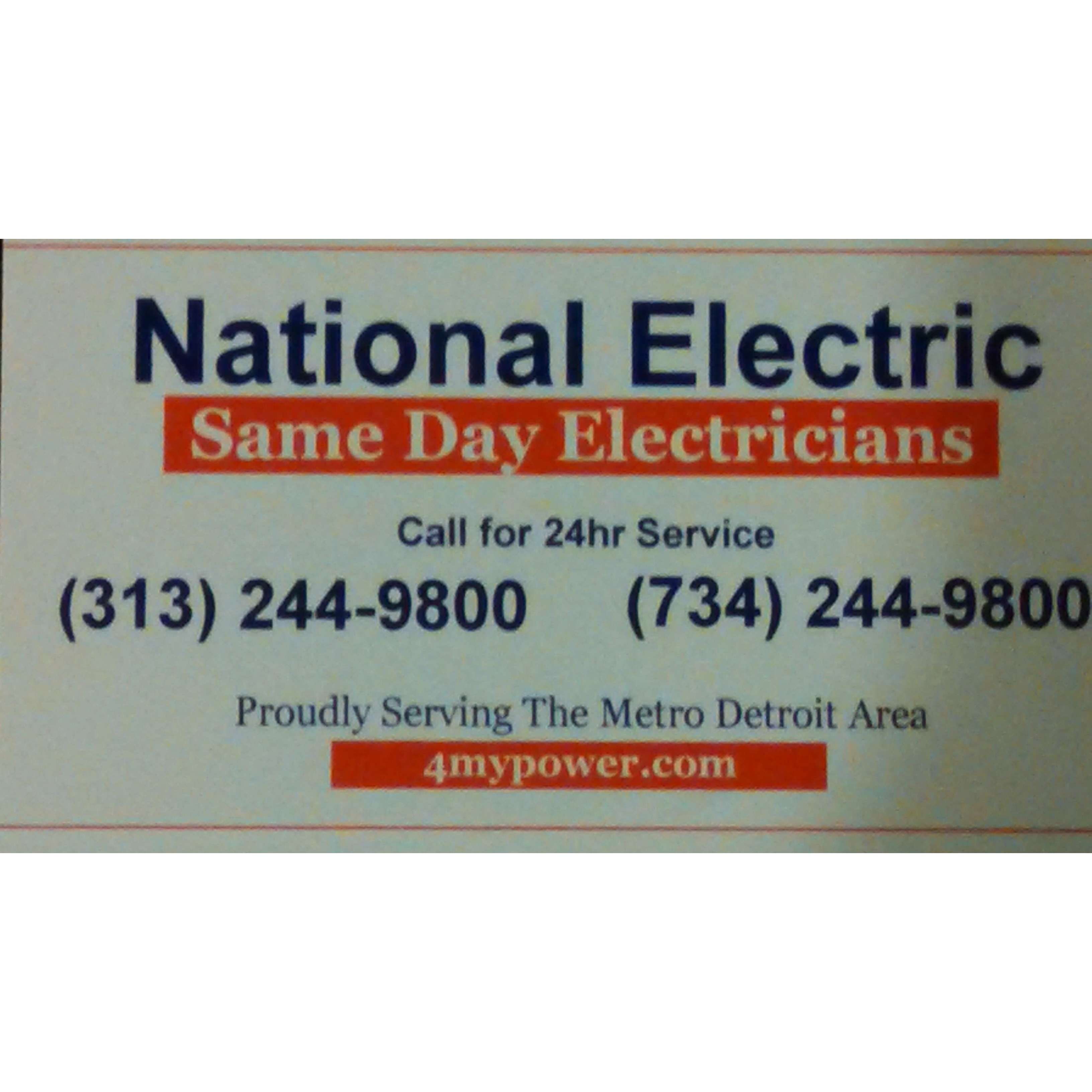 National Electric lc, (734) 244-9800
