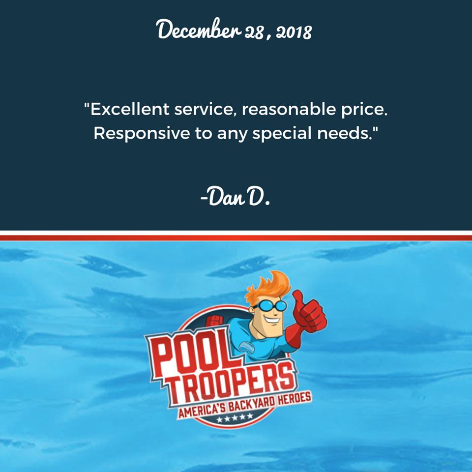 Pool Troopers Customer Testimonial