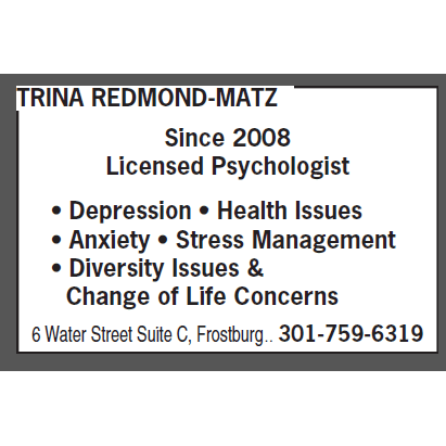 Redmond-Matz Trina - Frostburg, MD - Counseling & Therapy Services