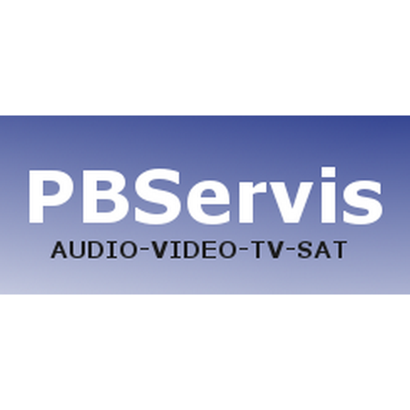 logo PBServis - audio, video, TV, SAT