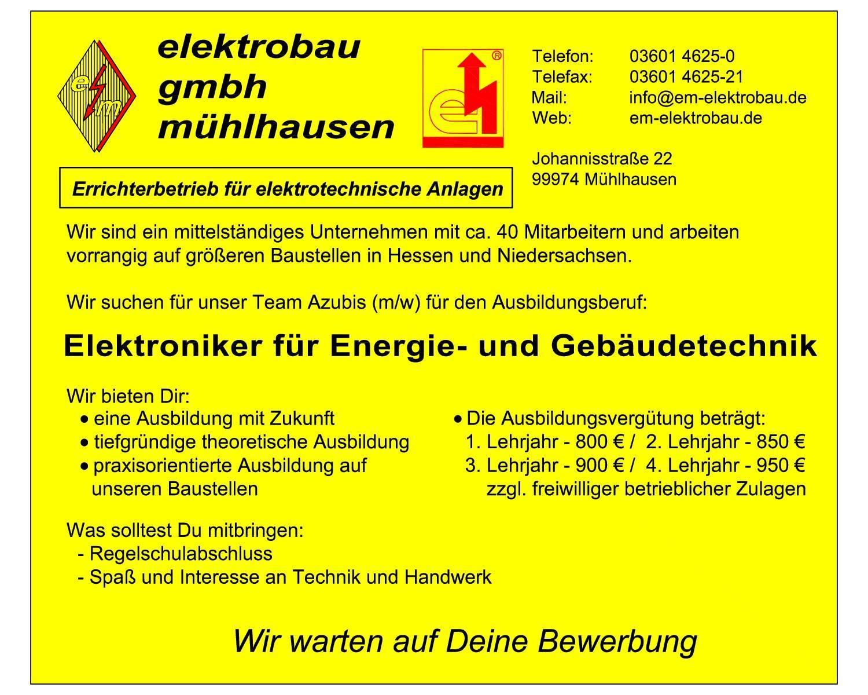Elektrobau Mühlhausen GmbH