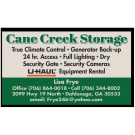 Cane Creek Mini Storage