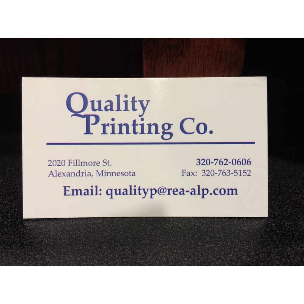 Quality Printing Co