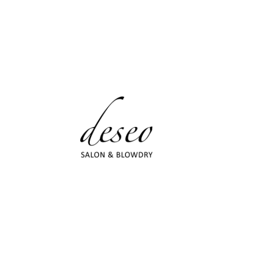 Deseo Salon And Blowdry Logo
