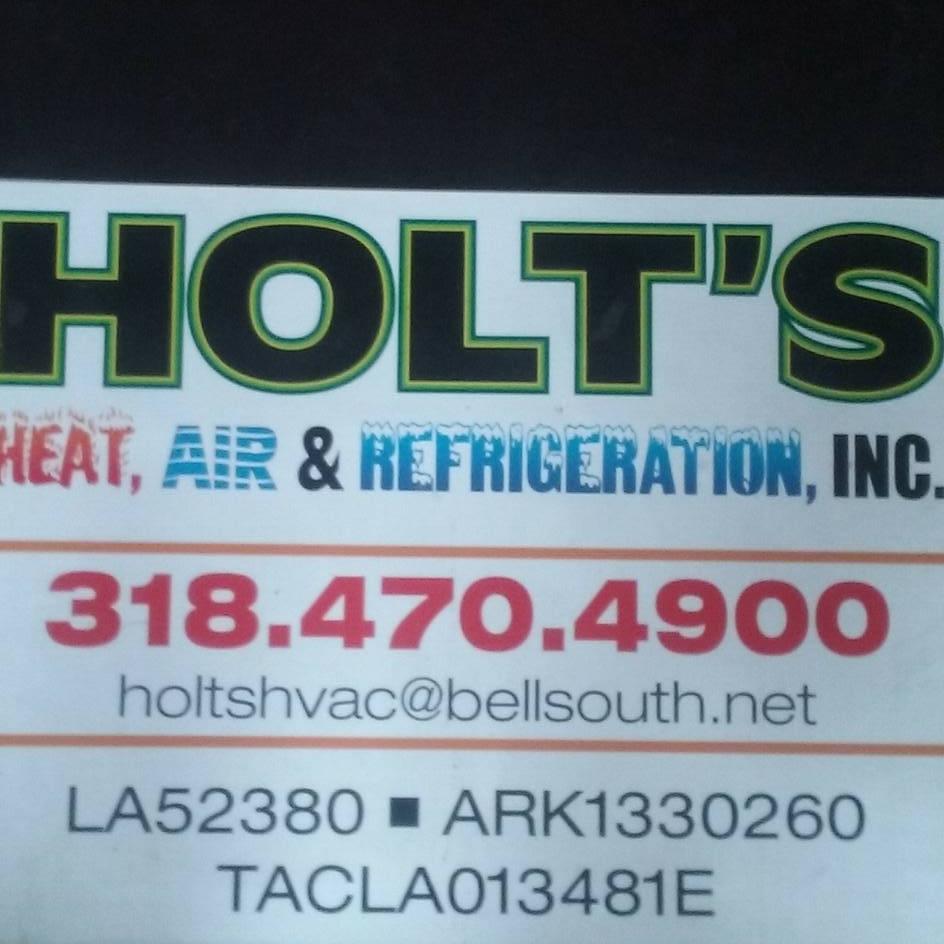 Holt's Heat Air & Refrigeration Inc