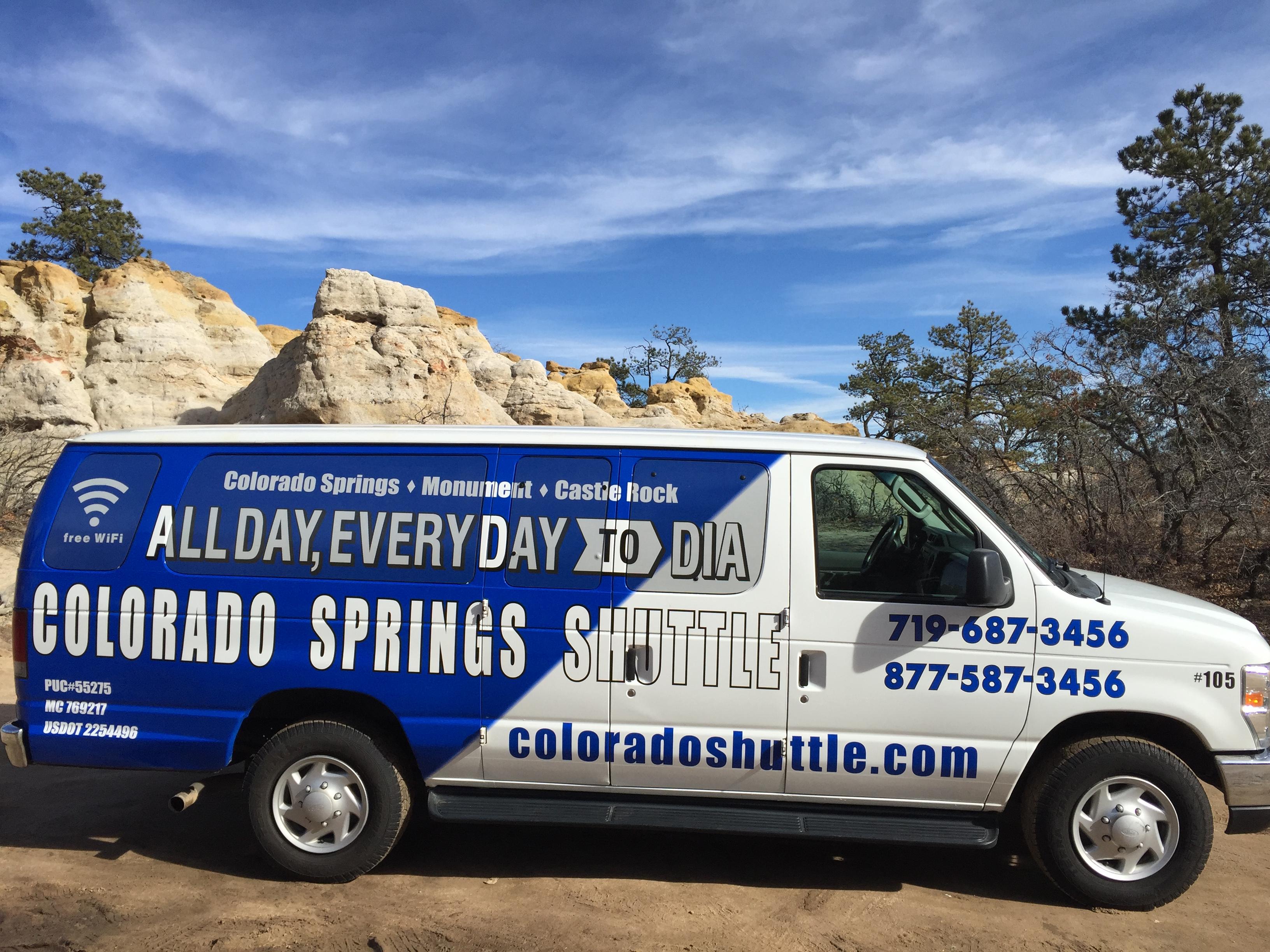 Colorado Springs Shuttle Colorado Springs Colorado Co