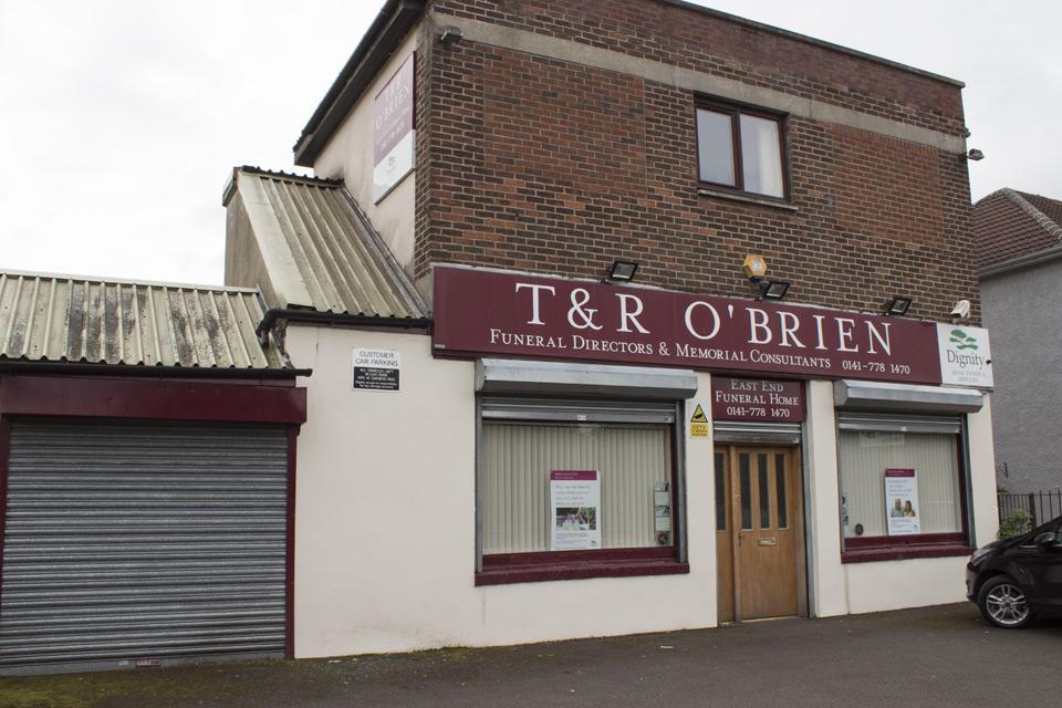 T & R O'Brien Funeral Directors