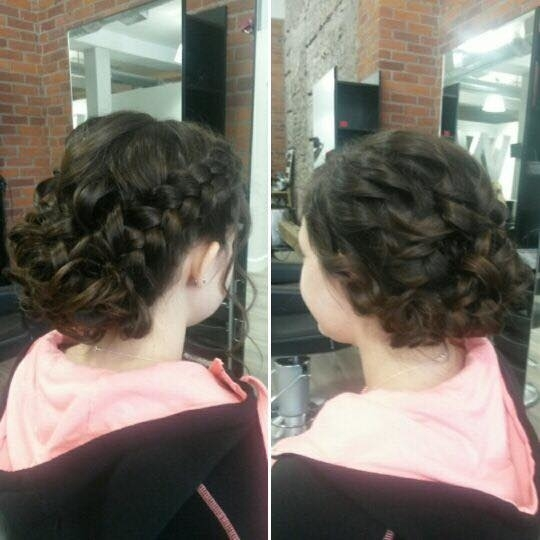 Wispers Hair & Day Spa in Cambridge: Prom Updo