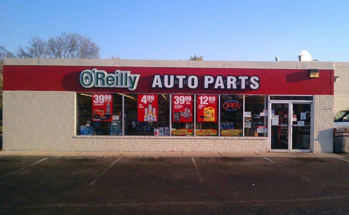 o 39 reilly auto parts coon rapids minnesota mn. Black Bedroom Furniture Sets. Home Design Ideas