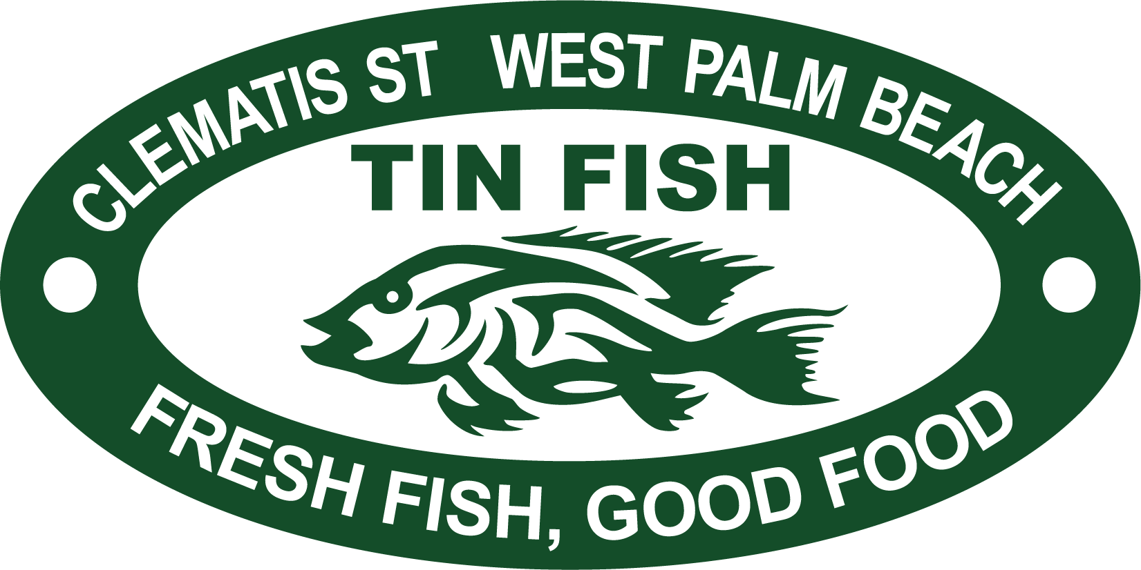 The tin fish 118 s clematis st west palm beach fl for Tin fish menu