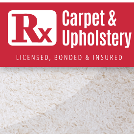 Rx Carpet and Upholstery Cleaning Services - Oxford, NC - Carpet & Upholstery Cleaning