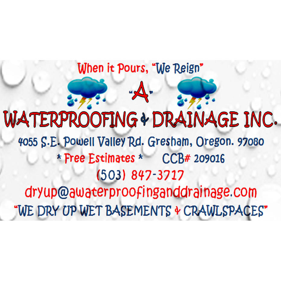A Waterproofing & Drainage Inc.
